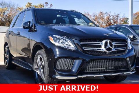 Certified Pre-Owned 2017 Mercedes-Benz GLE 400 AWD 4MATIC®