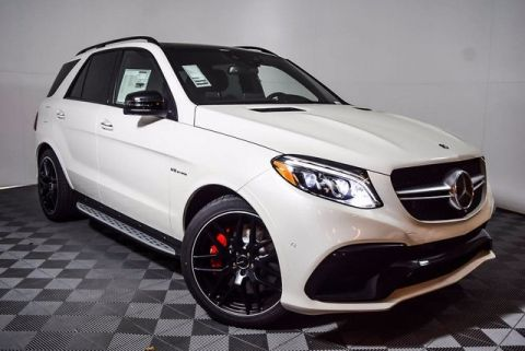 New 2018 Mercedes-Benz GLE 63 S AMG® SUV AWD 4MATIC®