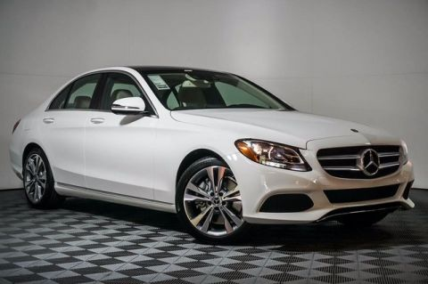 New 2018 Mercedes-Benz C 300 Rear Wheel Drive SEDAN