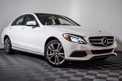 Certified Pre-Owned 2015 Mercedes-Benz C 300 4MATIC® 4D Sedan