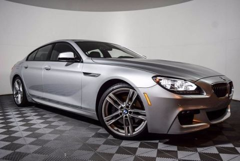 Pre-Owned 2014 BMW 6 Series 640i Gran Coupe RWD 4D Sedan