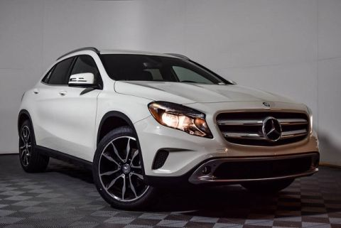 Certified Pre-Owned 2017 Mercedes-Benz GLA 250 Front Wheel Drive SUV