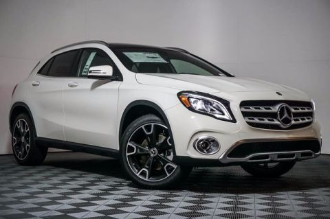 New 2018 Mercedes-Benz GLA 250 Front Wheel Drive SUV