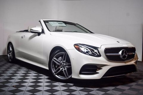 New 2018 Mercedes-Benz E 400 Sport Rear Wheel Drive CABRIOLET