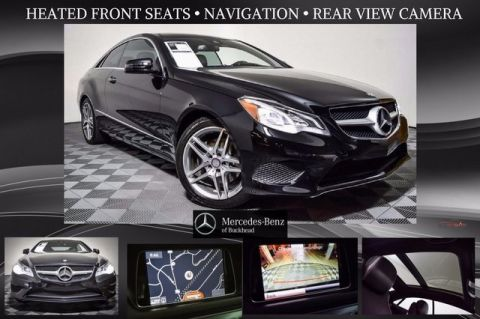 Certified Pre-Owned 2014 Mercedes-Benz E 350 RWD 2D Coupe