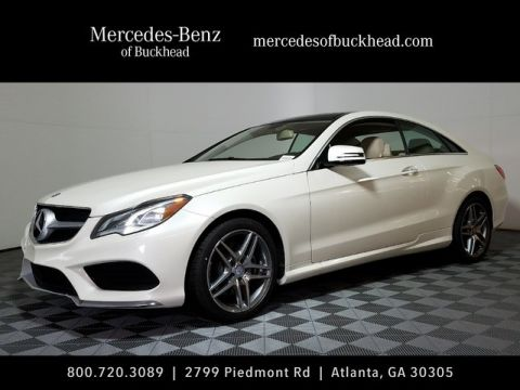 New 2017 Mercedes-Benz E 400 Sport AWD 4MATIC®
