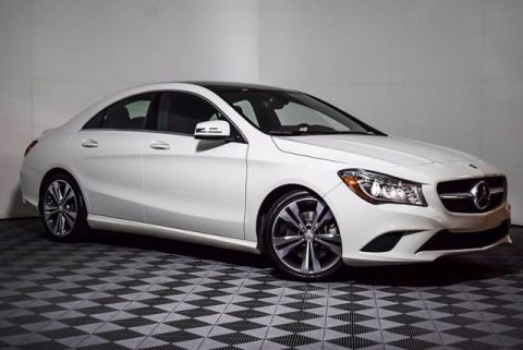 Certified Pre-Owned 2015 Mercedes-Benz CLA 250 Front Wheel Drive Coupe