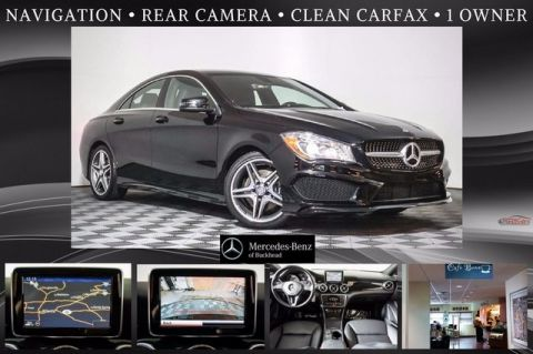 Pre-Owned 2014 Mercedes-Benz CLA 250 Sport Front Wheel Drive Coupe