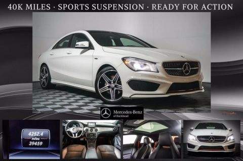 Pre-Owned 2014 Mercedes-Benz CLA 250 4MATIC® Coupe