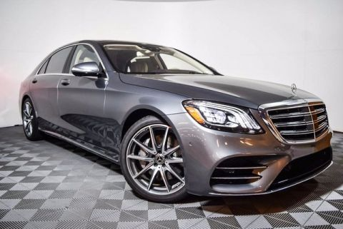 New 2018 Mercedes-Benz S 450 RWD 4D Sedan