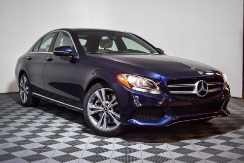 2018 Mercedes-Benz C-Class C 300 4D Sedan