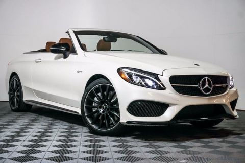 New 2018 Mercedes-Benz C 43 AMG® 4MATIC® 2D Convertible