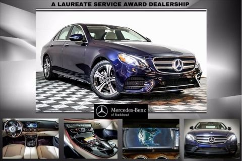 New 2018 Mercedes-Benz E 300 Sport Rear Wheel Drive SEDAN