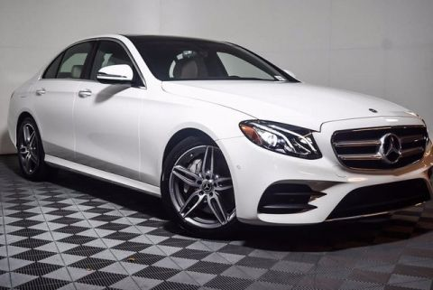 2018 Mercedes-Benz E-Class E 300 4D Sedan