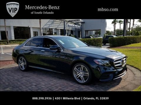 New 2017 Mercedes-Benz E 300 Rear Wheel Drive SEDAN
