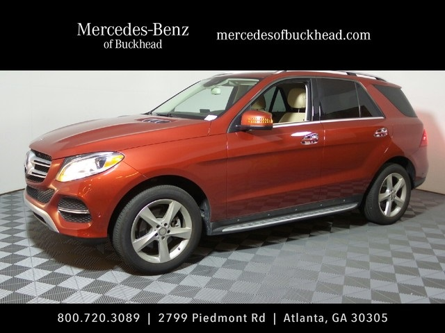 New 2016 mercedes benz gle gle 350 suv in atlanta 163533 for Mercedes benz of buckhead parts