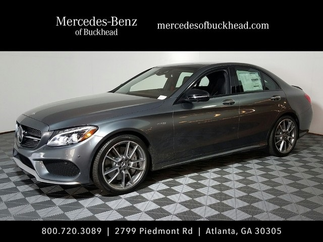 New 2017 mercedes benz c class c43 amg 4d sedan in for Buckhead mercedes benz