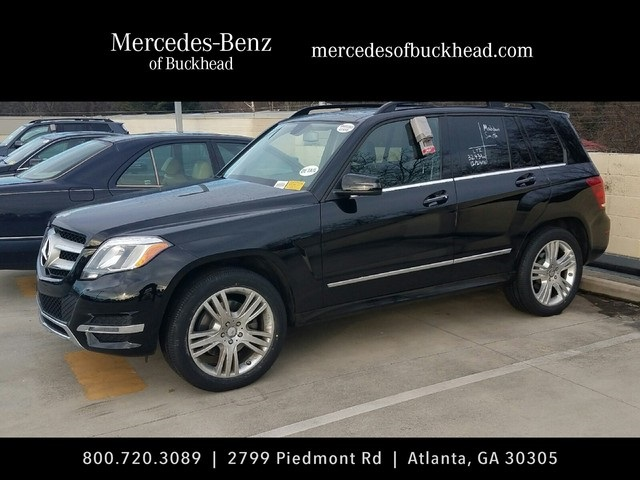 Certified pre owned 2014 mercedes benz glk glk350 4d sport for Mercedes benz buckhead preowned