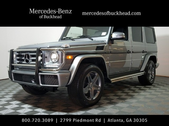New 2017 Mercedes Benz G Class G 550 Suv In Atlanta