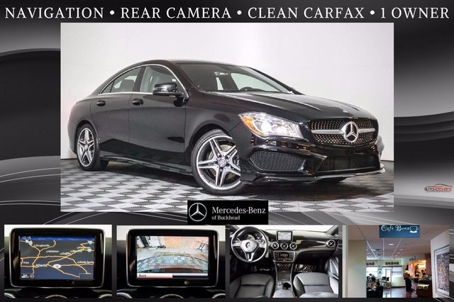 Pre owned 2014 mercedes benz cla cla 250 sport coupe in for Mercedes benz buckhead preowned