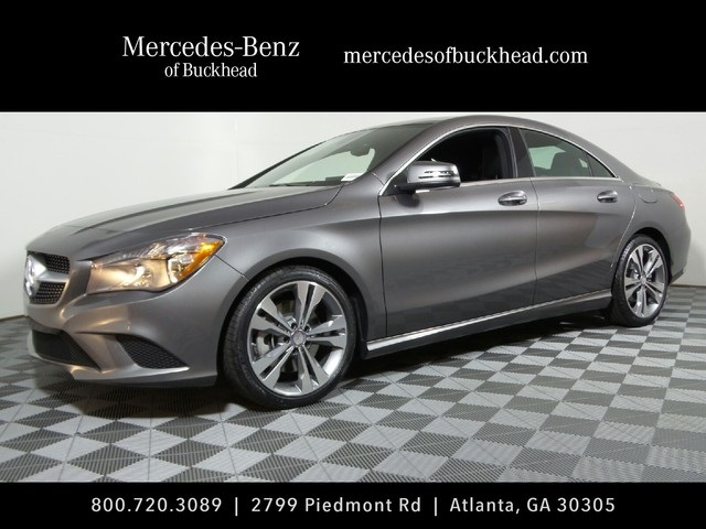 New 2016 mercedes benz cla cla250 coupe in atlanta 161412 for Buckhead mercedes benz