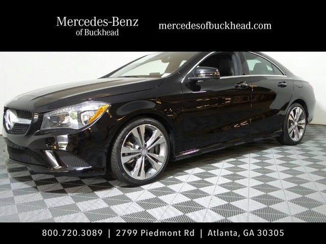 New 2016 mercedes benz cla cla250 coupe in atlanta 161481 for Mercedes benz of buckhead parts