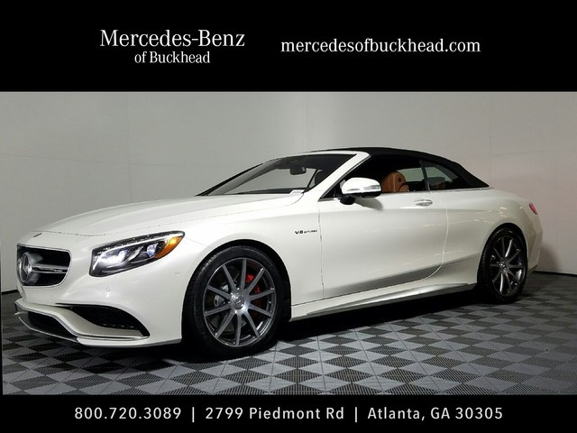 New 2017 mercedes benz s class s 63 amg cabriolet for Mercedes benz south atlanta service