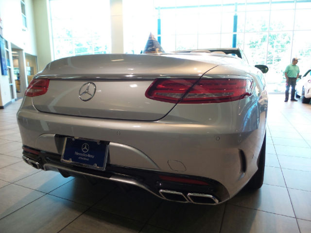 New 2017 mercedes benz amg s65 convertible in atlanta for Mercedes benz of south atlanta service coupons