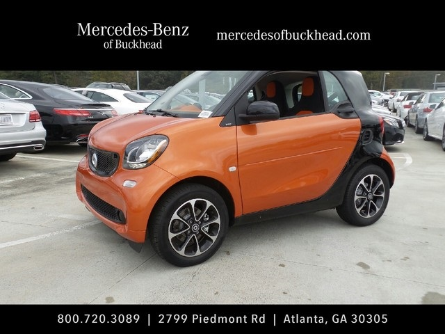 New 2016 Smart Fortwo Passion 2d Coupe In Atlanta 168799